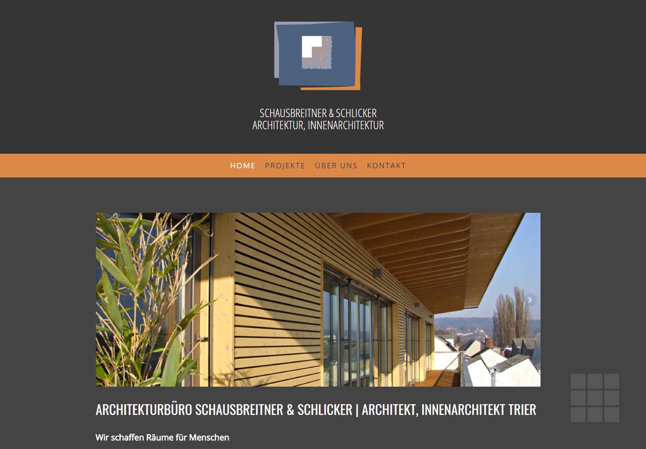 Schausbreitner & Schlicker – Planungsbüro für Architektur und Innenarchitektur