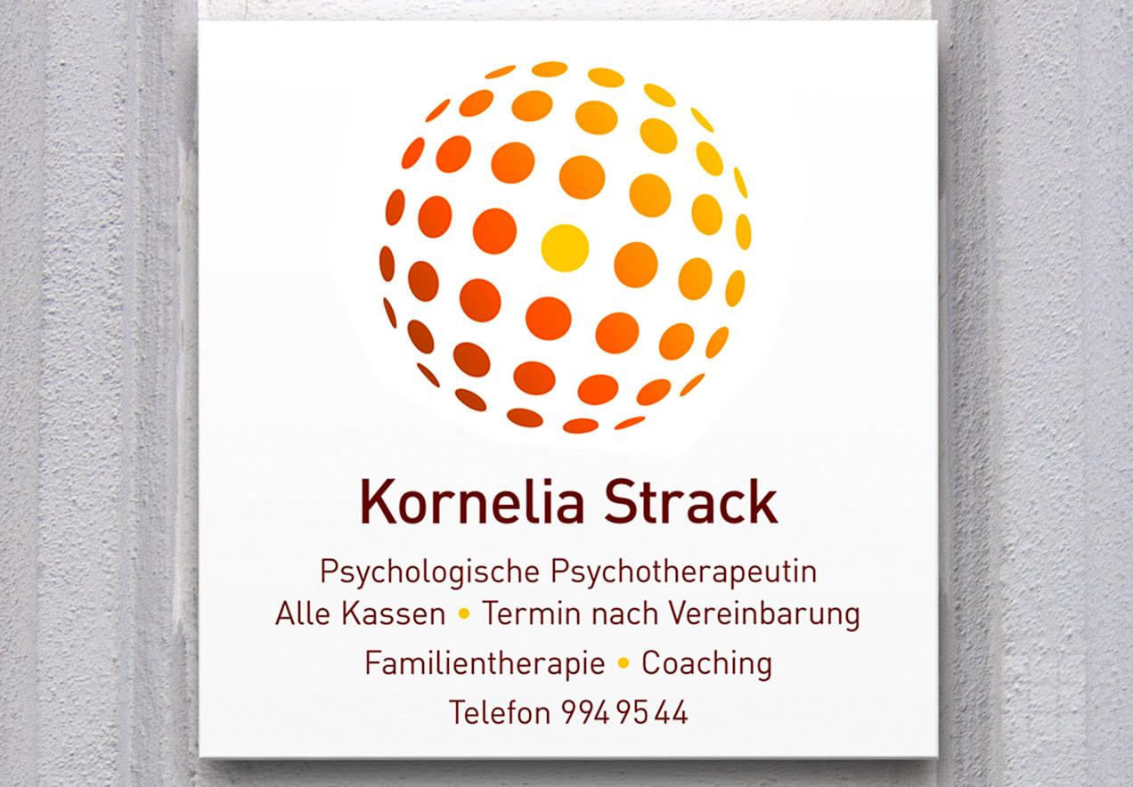 Corporate Design Psychotherapeutische Praxis Kornelia Strack