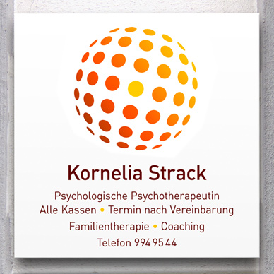 Corporate Design Psychotherapeutische Praxis