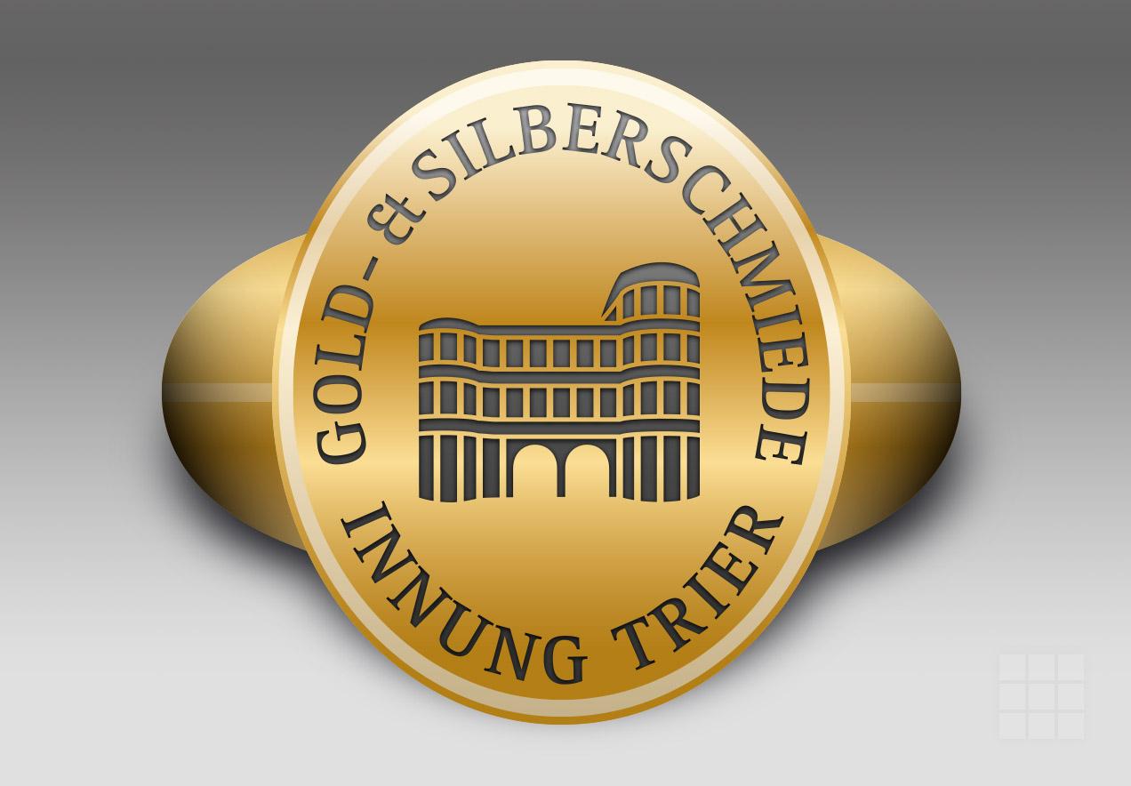 Emblem Gold- und Silberschmiede-Innung Trier