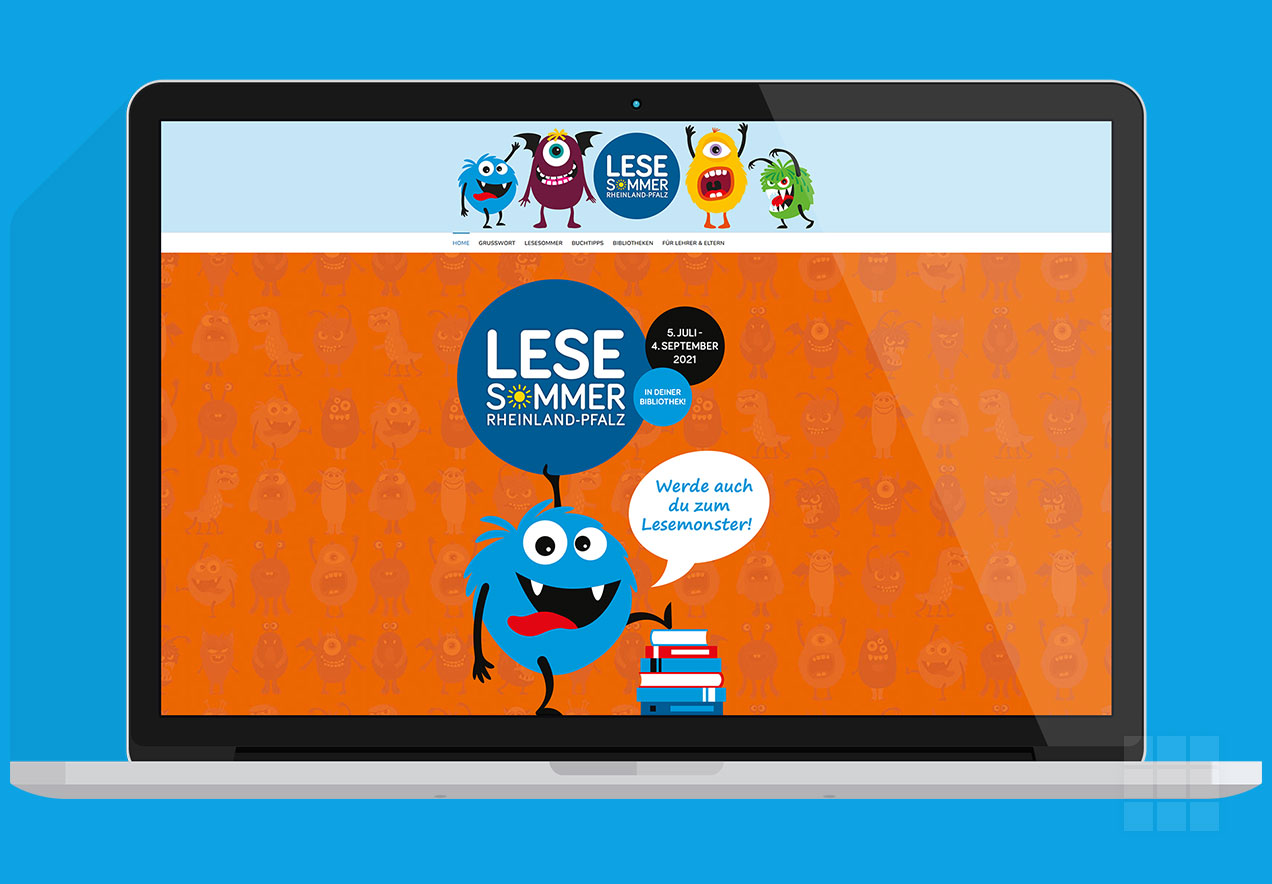 Corporate Design LESESOMMER ab 2021