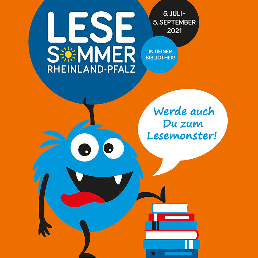 Corporate Design LESESOMMER Rheinland-Pfalz ab 2021