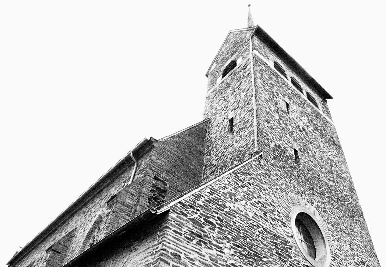 Gebäudefotografie Kirche