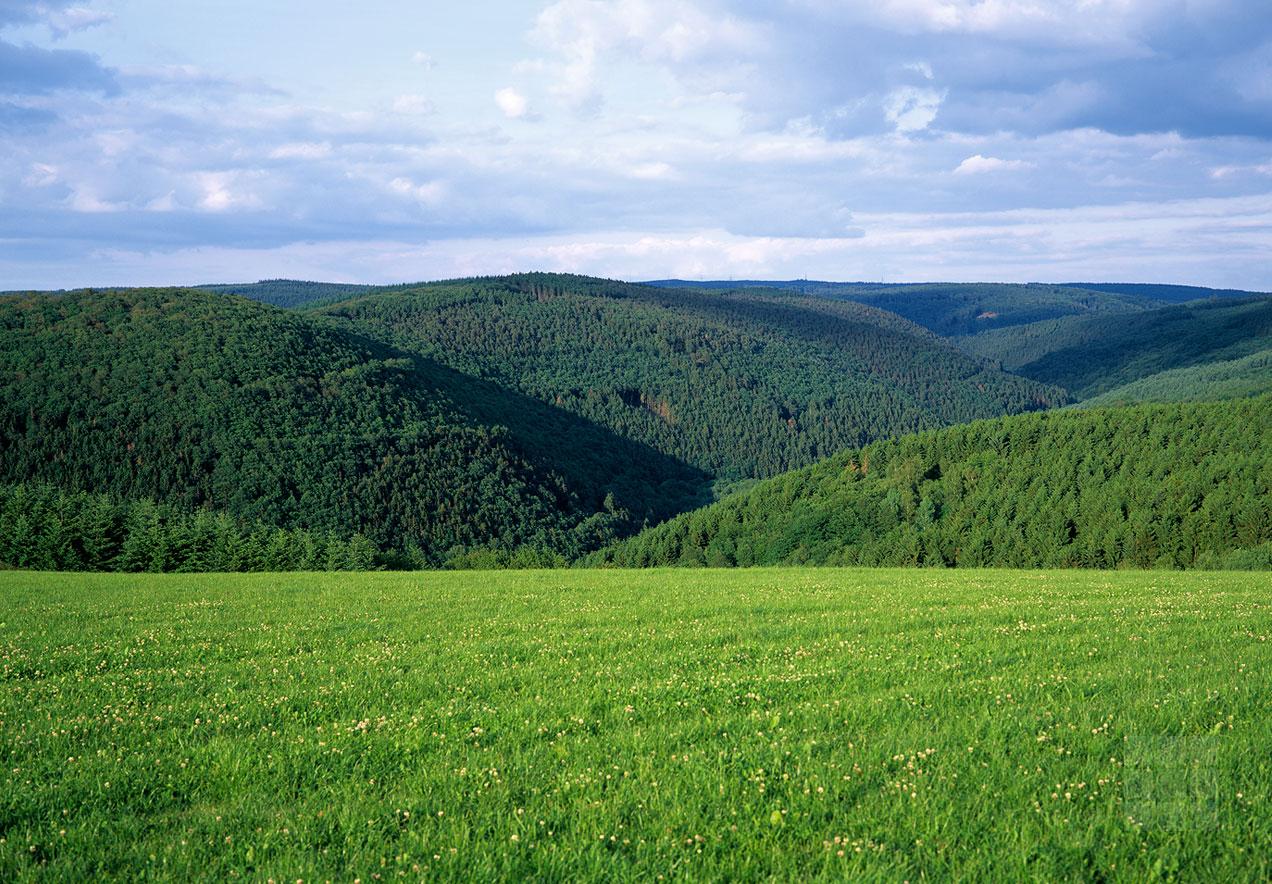 Landschaftsbild Blick von Bonerath