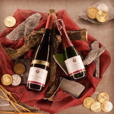 Wein-Arrangement