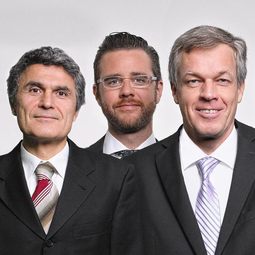 Gruppenbild Patentanwälte und Rechtsanwälte