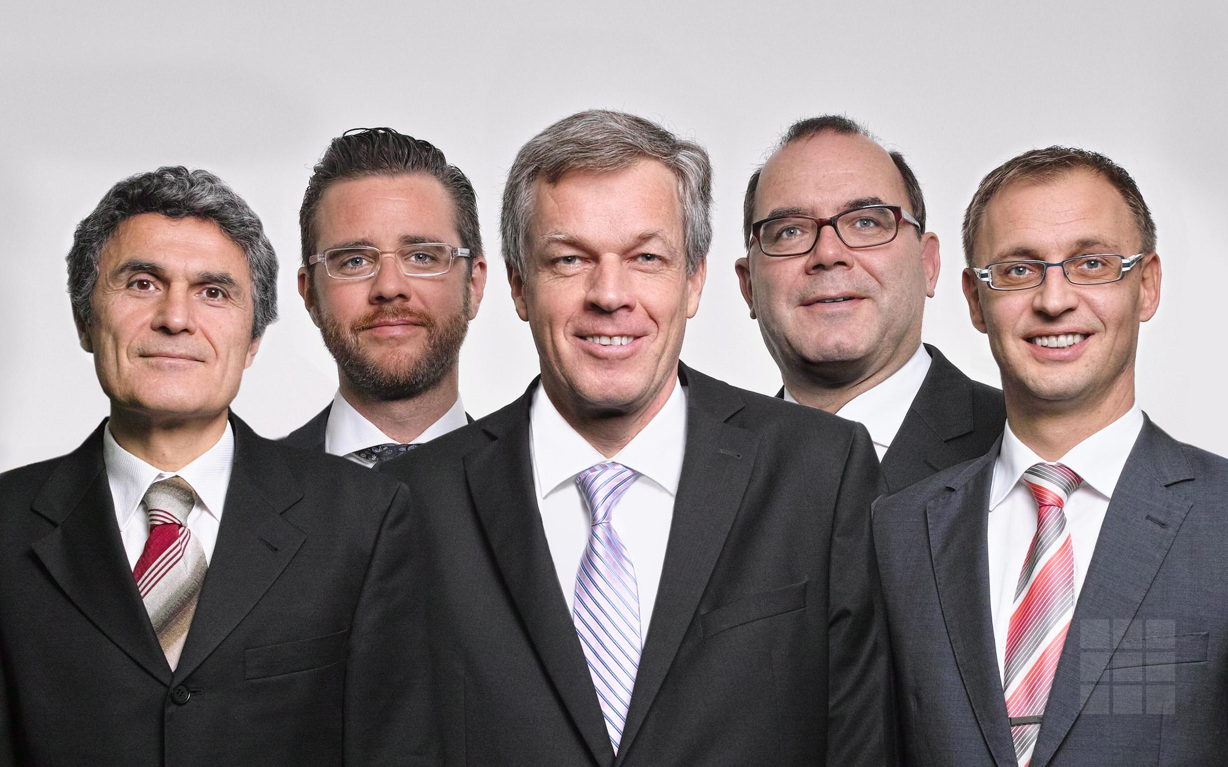Gruppenbild Patentanwälte Rechtsanwälte