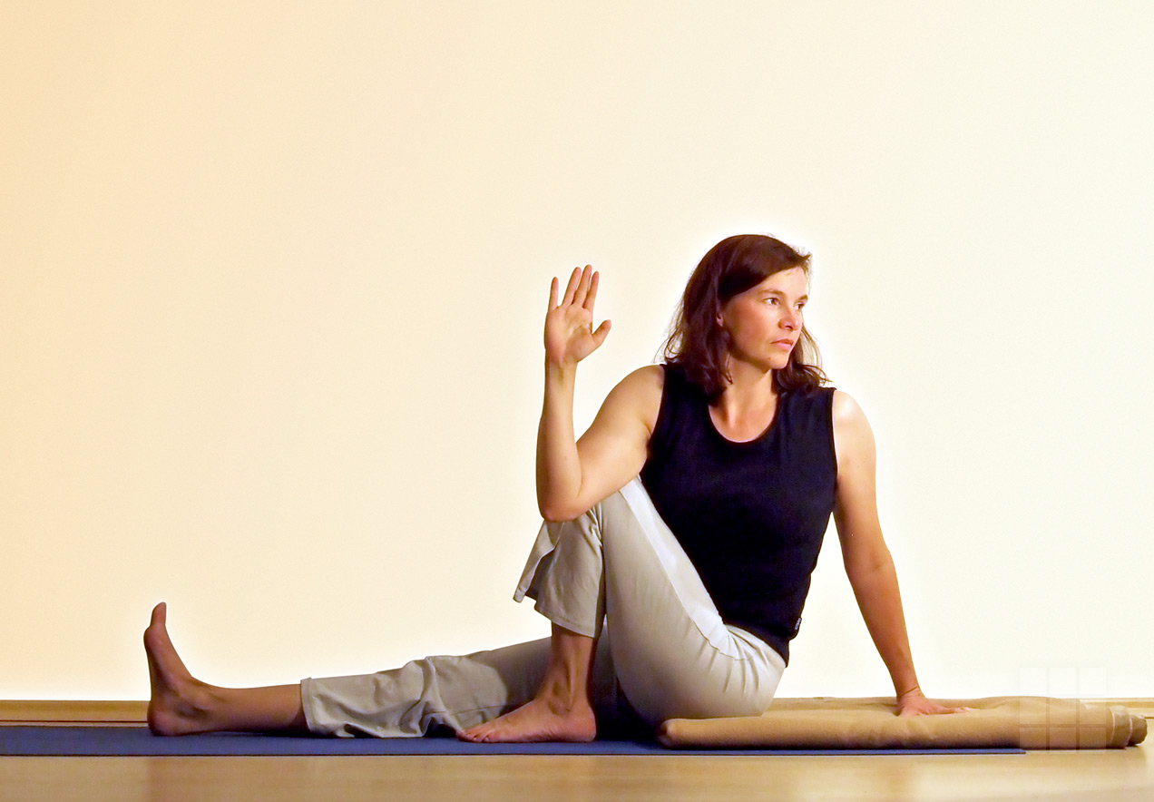 Portraitbild Yogalehrerin