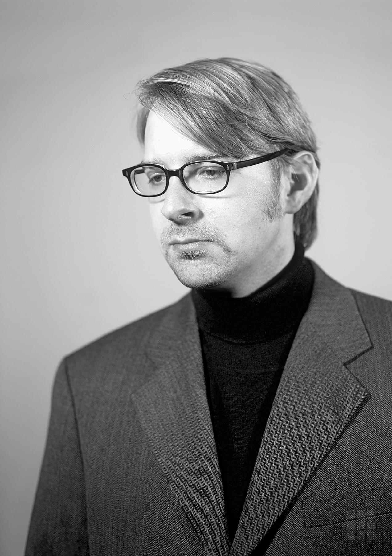 Schwarzweiß Portraitfoto