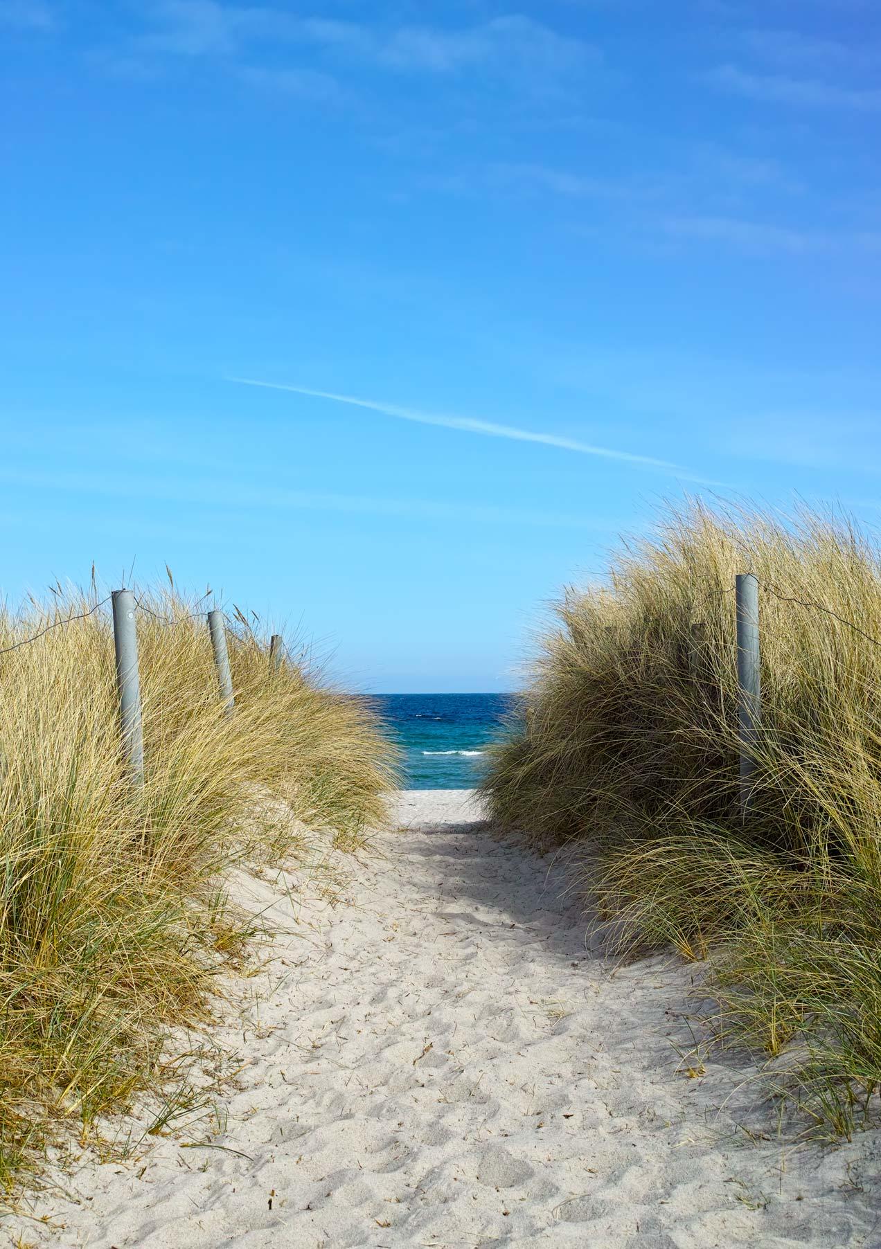 Zugang zum Meer - Arbeitsbeispiel Landschaftsfotografie