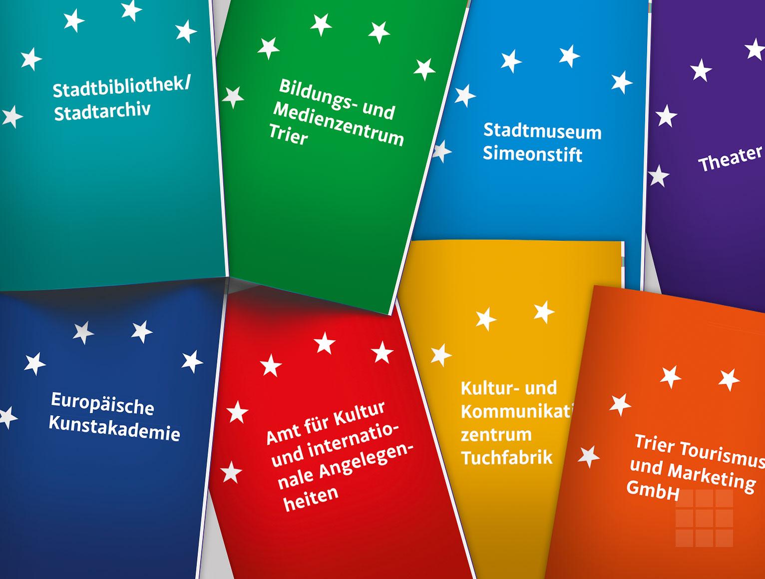 Kapitelintros mit Logo-Adaptation - Kulturbericht Stadt Trier