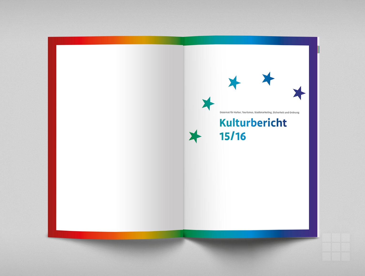 Schmutztitel - Kulturbericht Stadt Trier