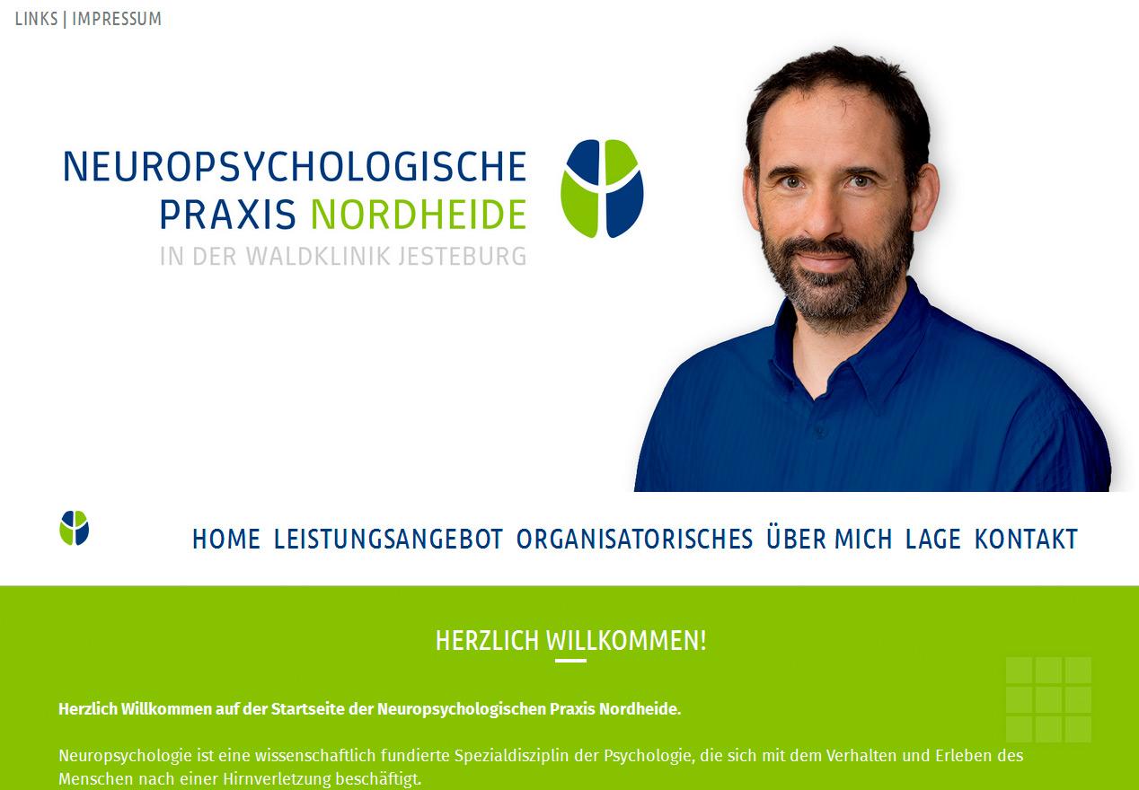 Homepage Neuropsychologische Praxis