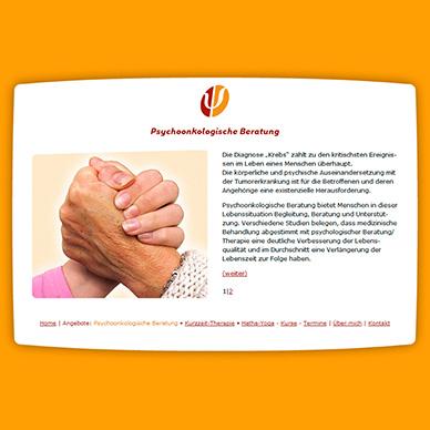 Internetpräsenz Psychologische Praxis