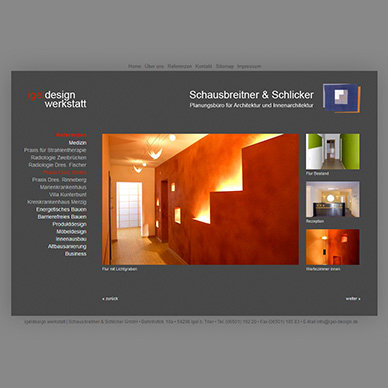 Website Architekturbüro