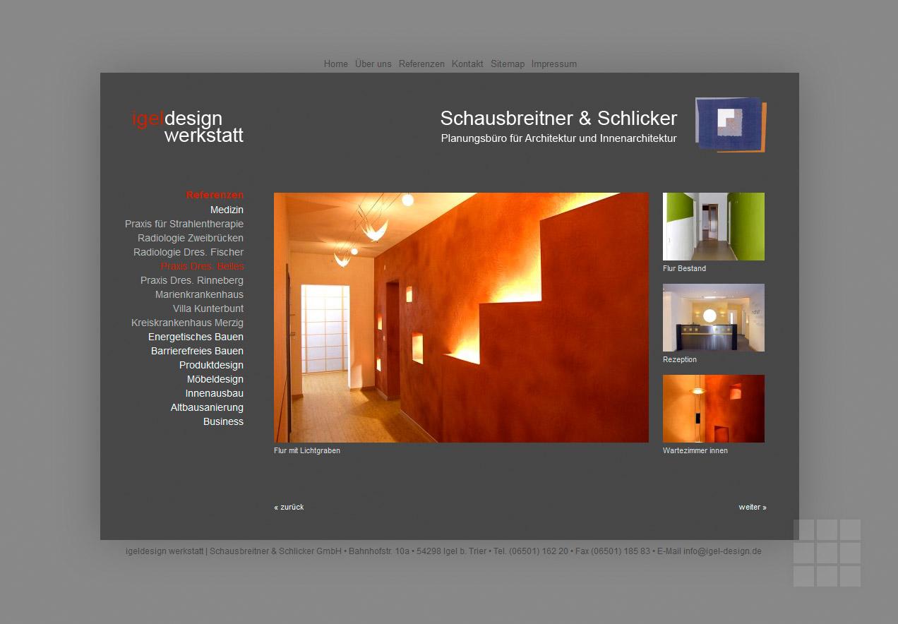 NEUMANN DESIGN - Arbeitsbeispiel Webdesign